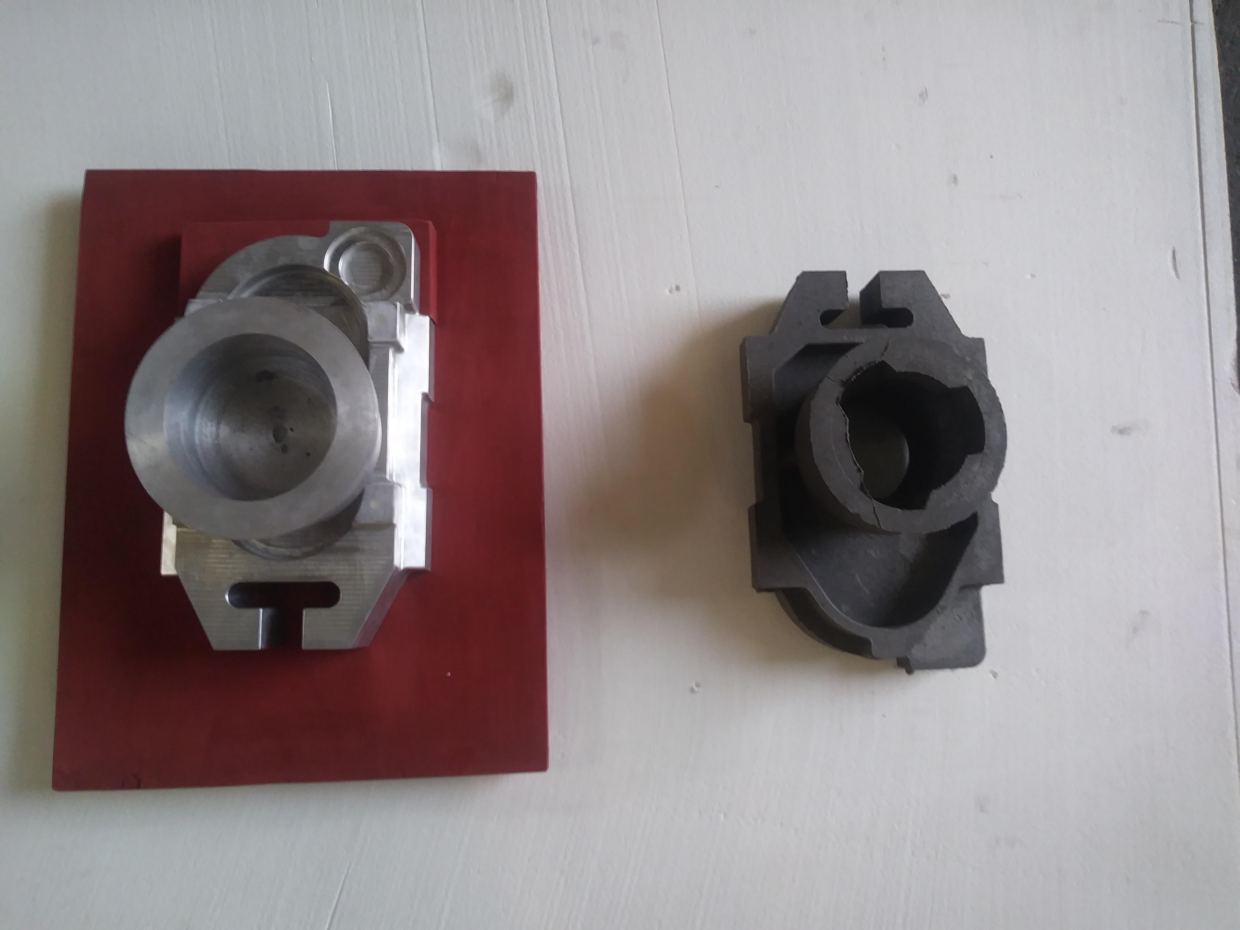 slide gate investment casting